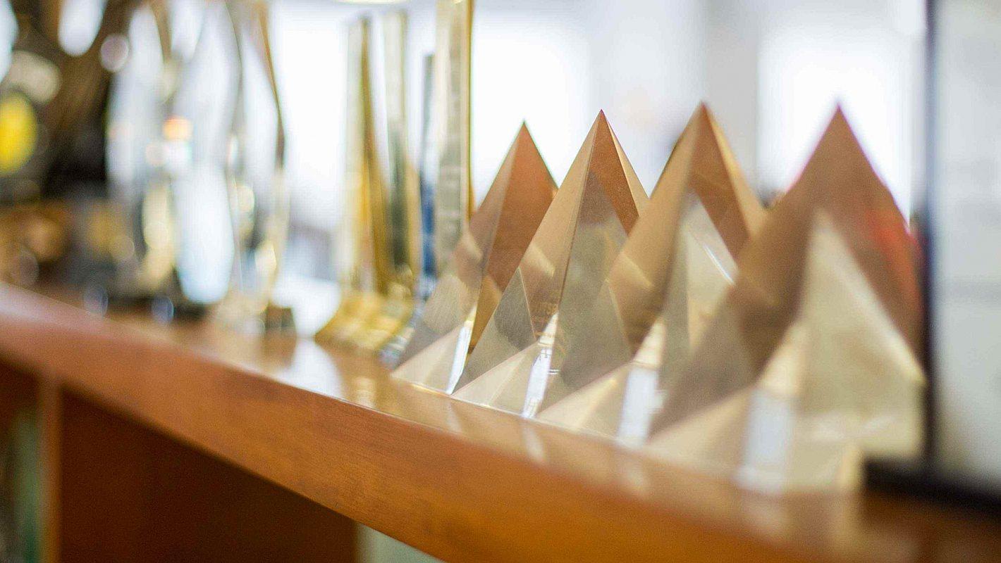 A few awards that were won by Smiths Agency.