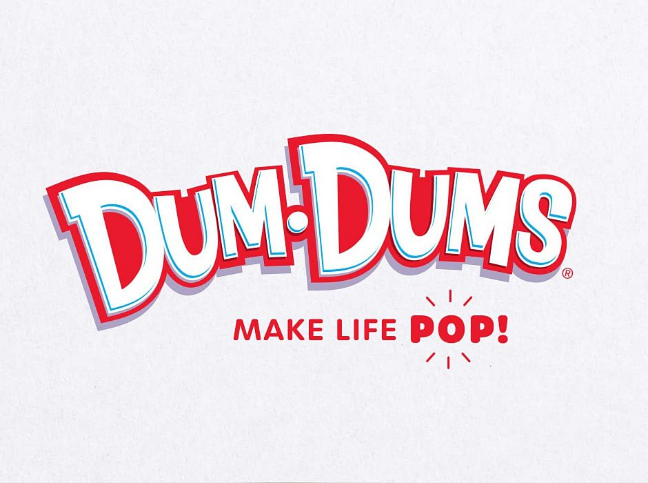Dum-Dum's: Make Life Pop!  Logo
