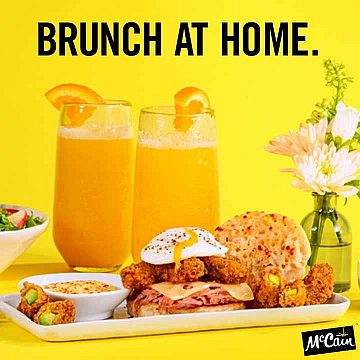 McCain Foodservice - Brunch at Home Instagram Post
