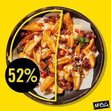 McCain Foodservice - 52% Instagram Post
