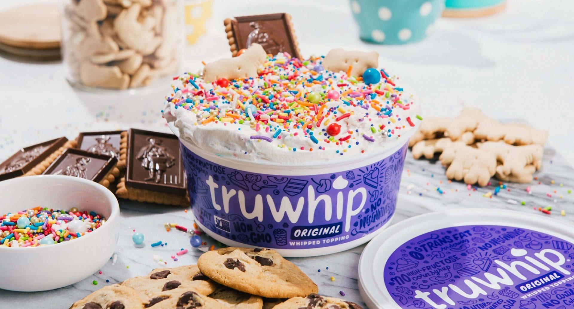 Truwhip Funfetti Dip Sprinkles Cookies